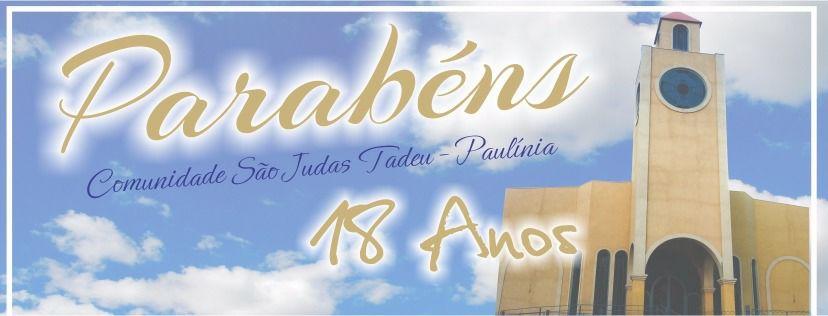 Aniversário da Comunidade São Judas Tadeu: 18 anos