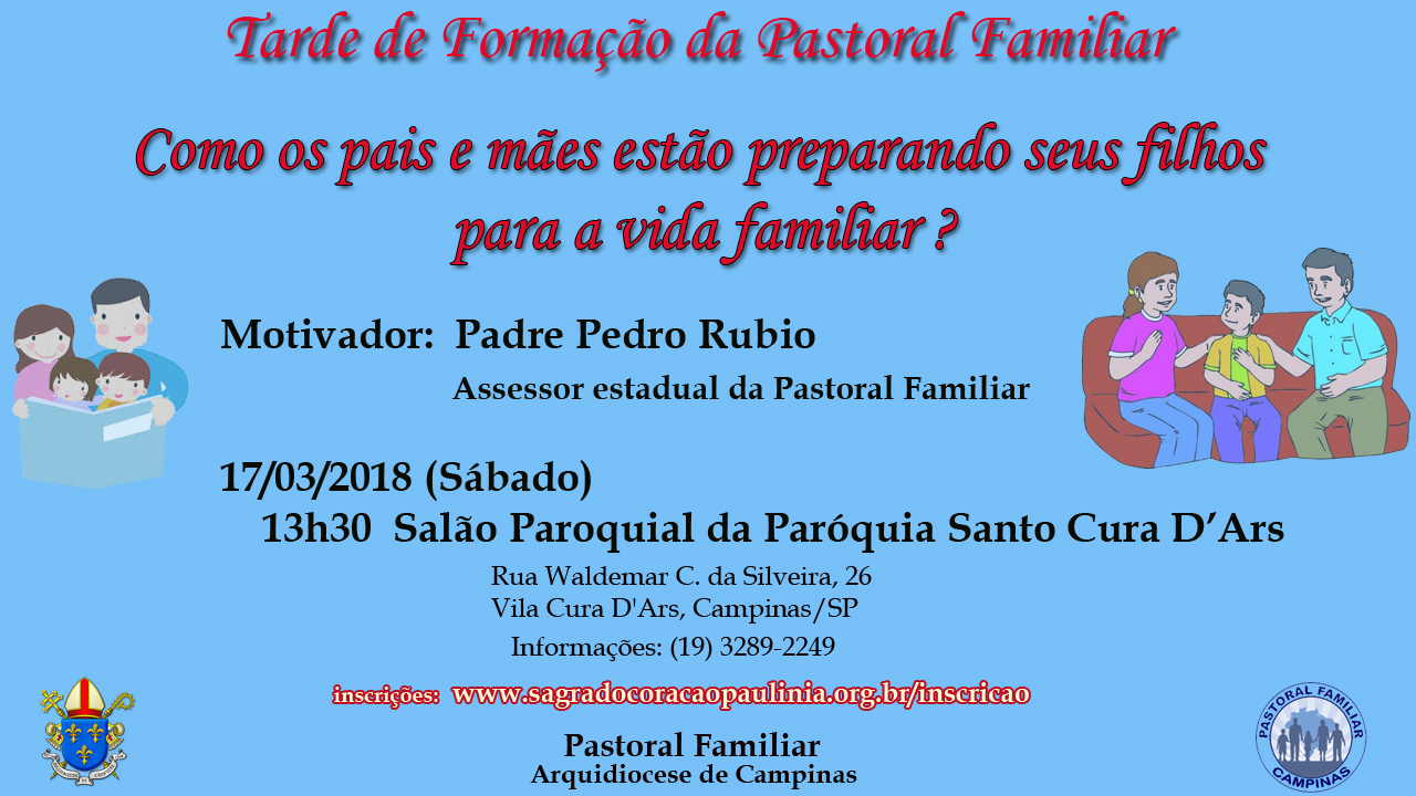 Formação Pastoral Familiar
