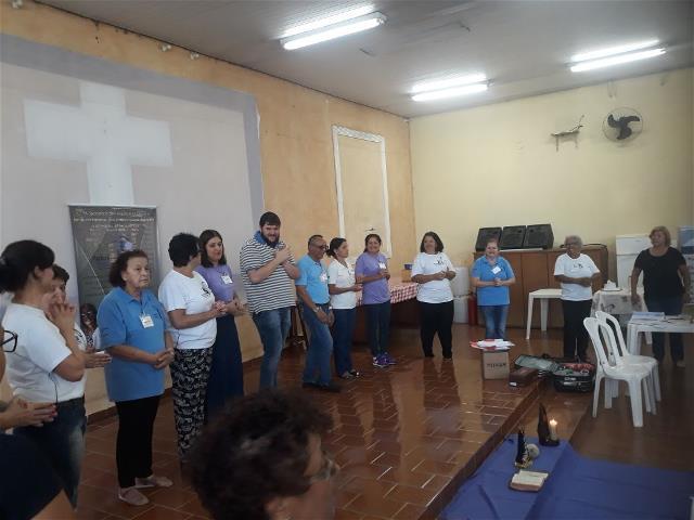 Capacitação de agentes da Pastoral da Pessoa Idosa