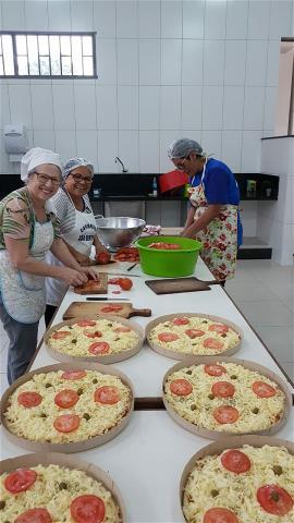 Comunidade São Bento: Festival da Pizza