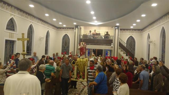 Imagem visita a Comunidade São Bento