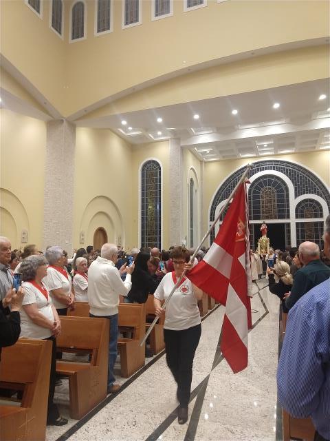Missa Padroeiro: Preparação entrada Andor