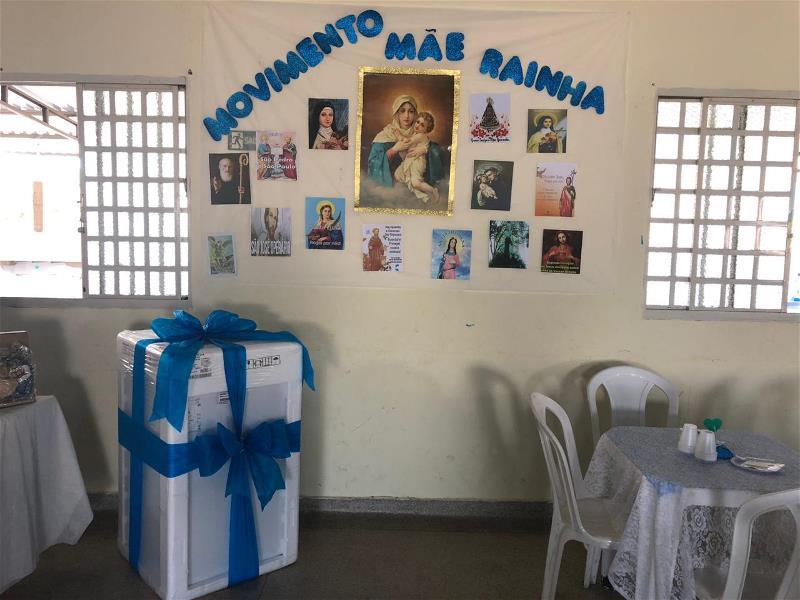 Movimento Mãe Rainha: Chá Beneficente