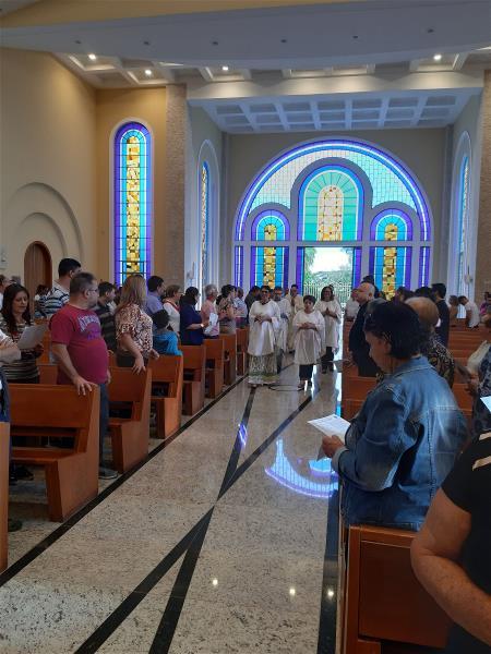 Missa em louvor a São José Operário