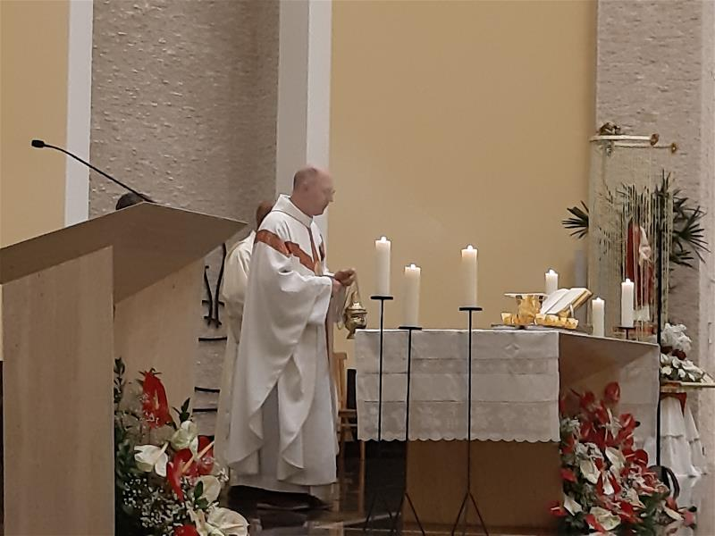 Missa Solene Padroeiro Sagrado Coração de Jesus