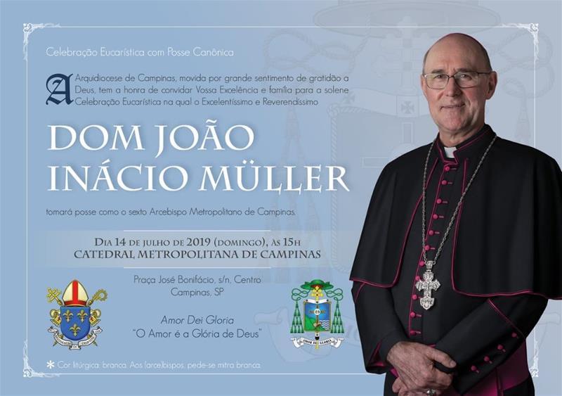 Posse Dom João Inácio Müller