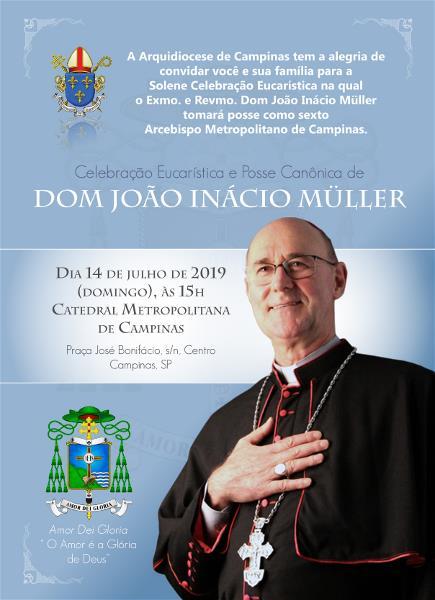Missa e Posse Canônica  de Dom João Inácio Müller