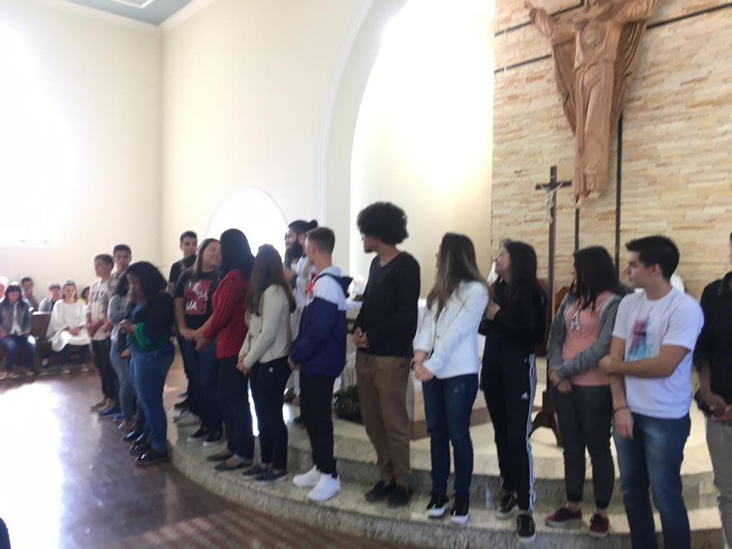 Homenagem aos Catequistas (Com São Pedro)
