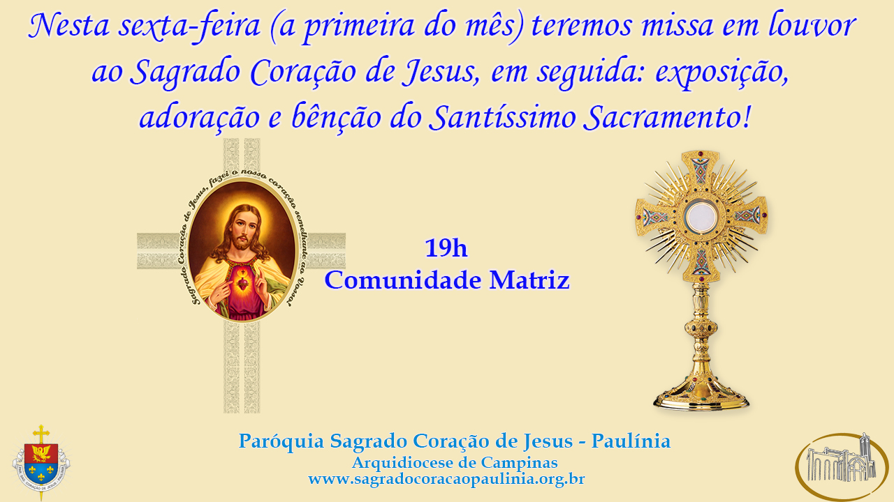 Louvor Sagrado Coração de Jesus