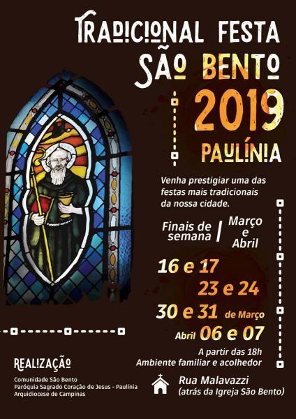 Tradicional Festa na Comunidade São Bento