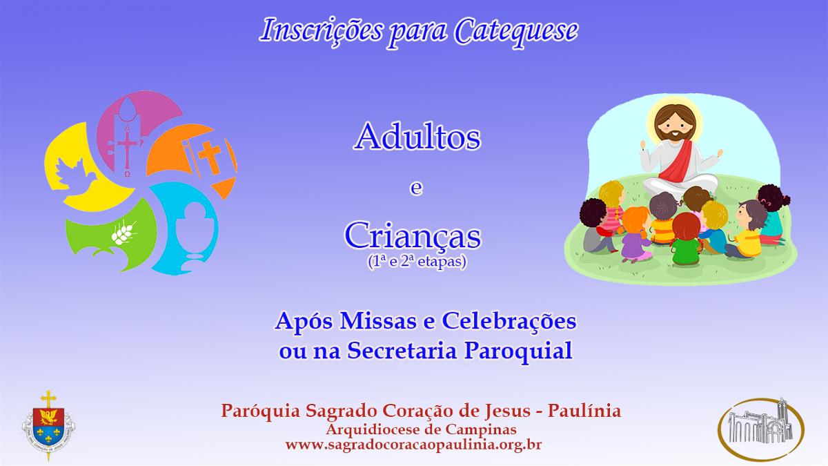 <i>Catequese 2020  (13/01/2020)</i>