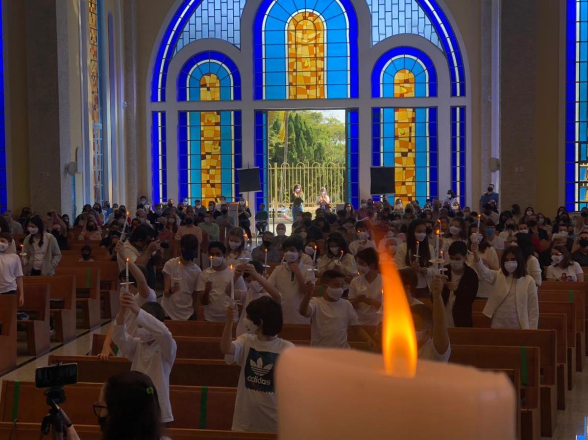 Primeira Eucaristia na Comunidade Matriz