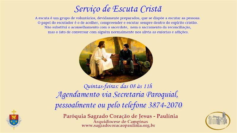 Paróquia implanta a Escuta Cristã
