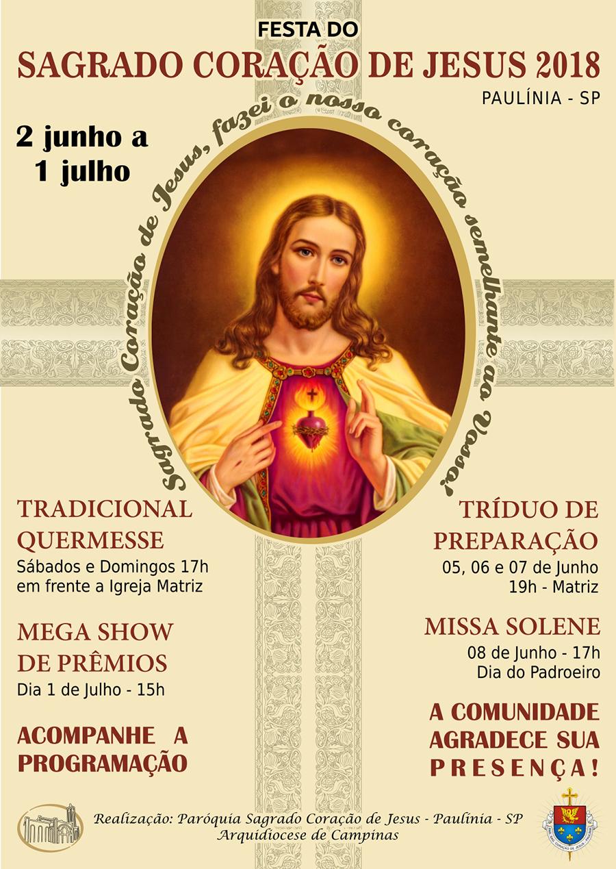 Festa do Sagrado Coração de Jesus 2018