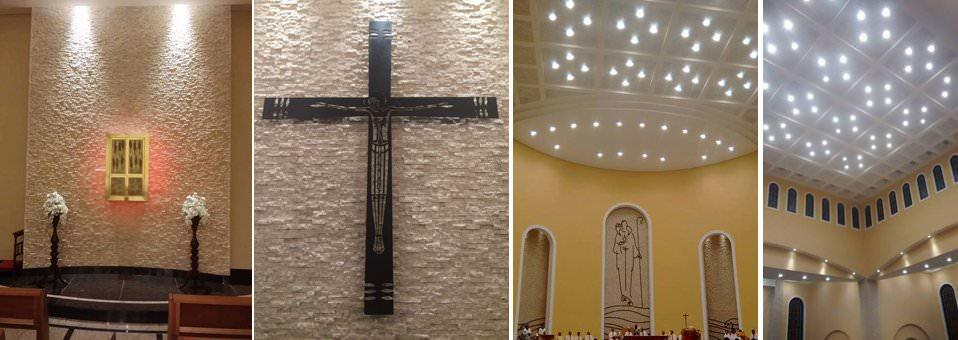 Igreja Matriz - Capela, Sala Paramentação, iluminação
