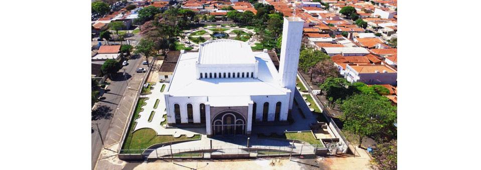 Igreja Matriz (foto tirada em um drone)