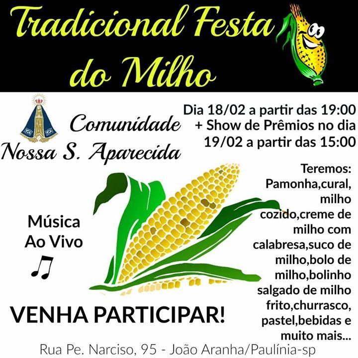 Tradicional Festa do Milho
