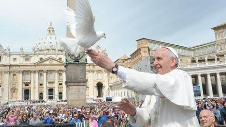 Papa Francisco pede que o Espírito Santo seja o protagonista